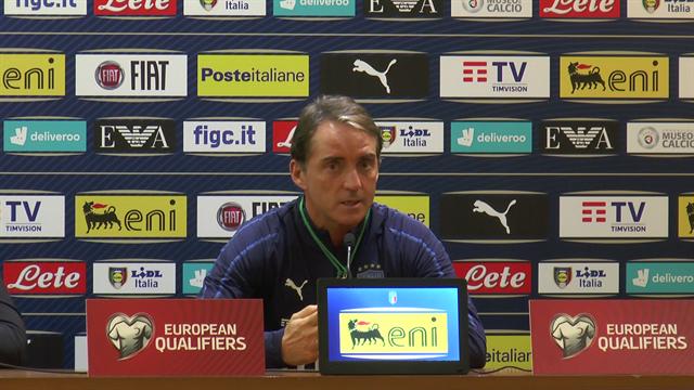 """Mancini: """"In 15 mesi siamo cresciuti tanto, ora dobbiamo pensare a qualificarci"""""""