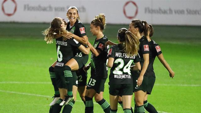 Kantersieg in Köln! Wolfsburg wird Favoritenrolle gerecht