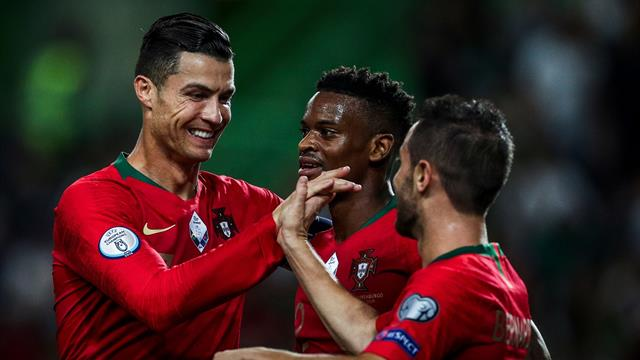 Ronaldo moves onto 699 career goals in Portugal win