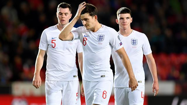 Zum ersten Mal seit zehn Jahren: England verliert in EM-Qualifikation