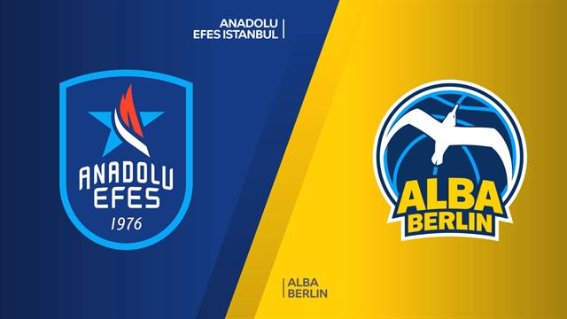 Highlights: Anadolu Efes Istanbul-Alba Berlino 106-105 d1ts