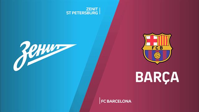 Highlights: Zenit San Pietroburgo-FC Barcellona 63-87