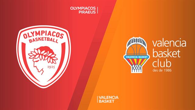 Highlights: Olympiacos Pireo-Valencia Basket 89-63