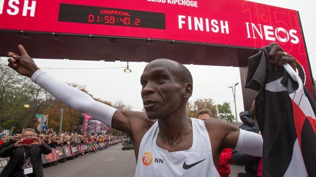 Le marathonien Kipchoge visera le doublé à Tokyo