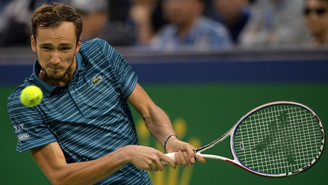 Sechstes Finale in Serie: Medvedev gibt weiter Vollgas