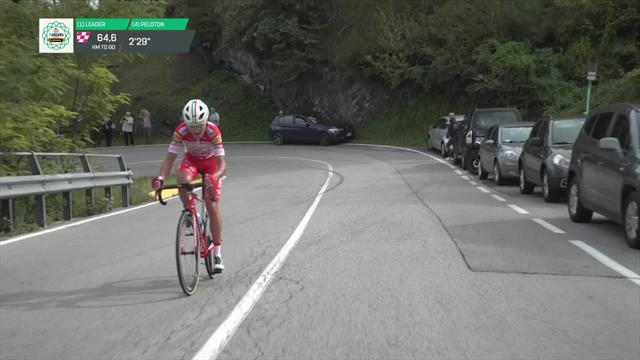 Giro de Lombardía 2019: El ataque de Masnada que indignó a Mollema