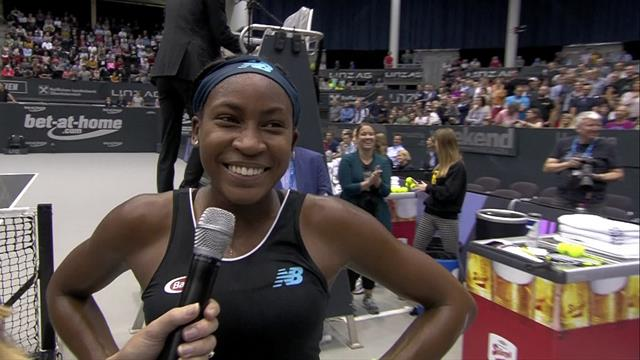 'It's crazy!' - Gauff can't believe latest win at WTA Linz