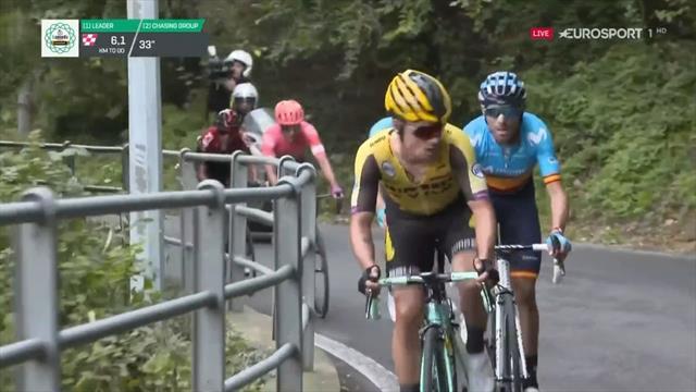 Giro de Lombardía 2019: Así frustró Valverde la fuga de Roglic para ser segundo