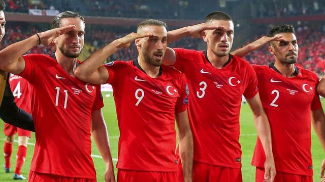 Militärgruß beim Torjubel: Türkei droht Ärger