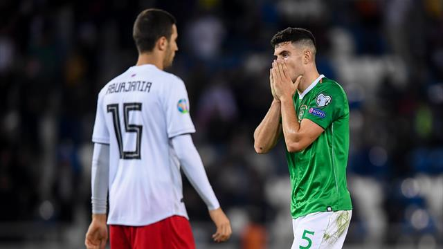 Republic of Ireland stay top of Group D after dismal draw with Georgia