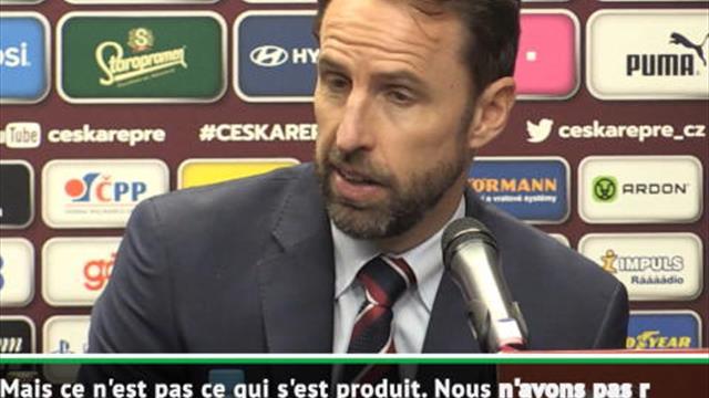 """Angleterre - Southgate """"assume la responsabilité"""" de la défaite"""