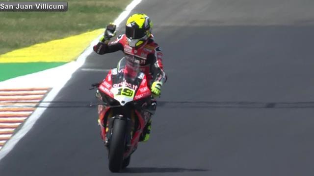 Bautista victorious in Race 1 in San Juan