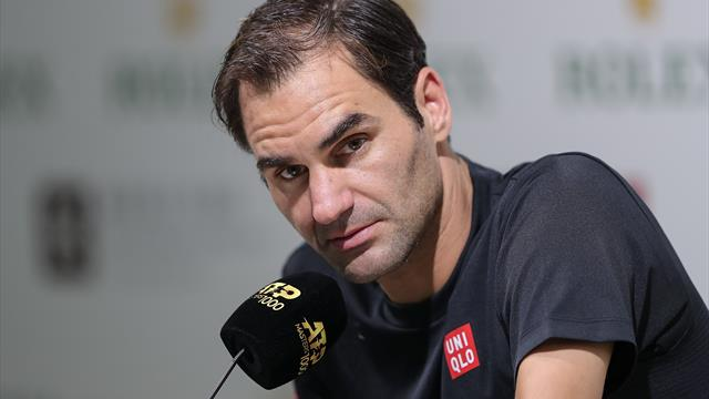 Watch the press conference where Federer confirmed his big Olympics decision