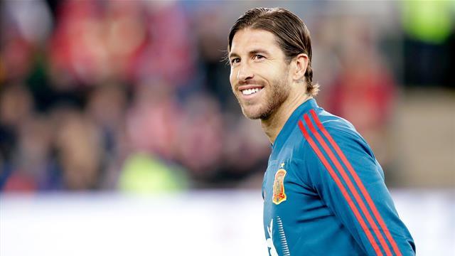 Рамос побил рекорд Касильяса по матчам за сборную Испании