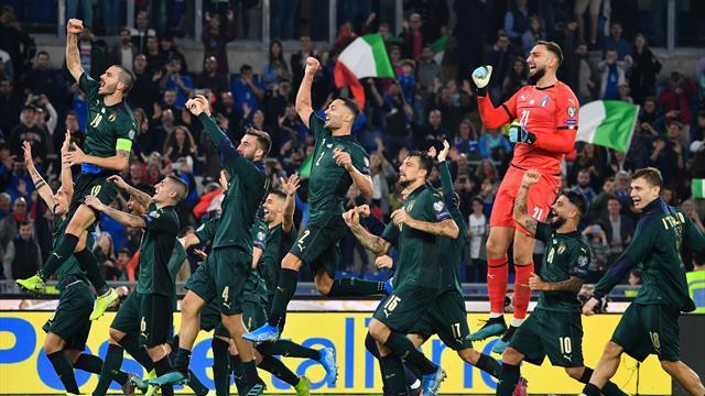 Clasificación Eurocopa 2020: Italia renace con su nueva camiseta y logra el pase