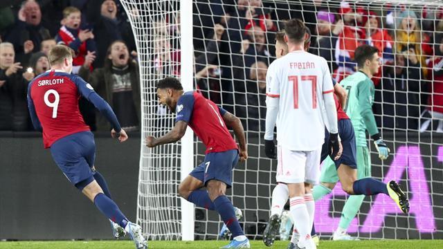Clasificación Eurocopa 2020, Noruega-España: Un golpe para espabilar (1-1)