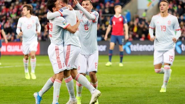 1-1. España aplaza su pase a la Eurocopa