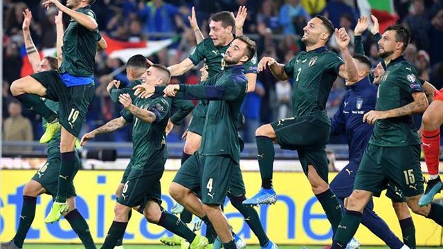 2-0. Italia vence a Grecia y pone rumbo a la Eurocopa
