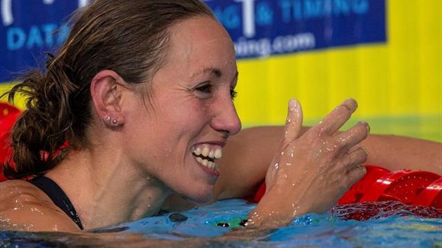 Jessica Vall suma su segundo oro tras imponerse en los 100 braza