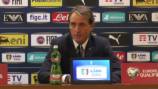 """Mancini: """"Questa Italia non ha fuoriclasse, ma ha carattere, gioca e può migliorare tanto"""""""