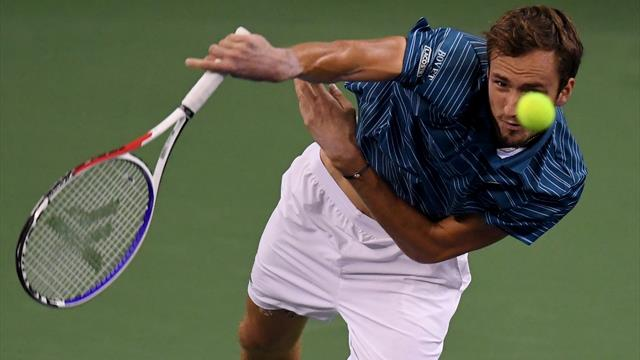 Medvedev thrashes Zverev to win second Masters title