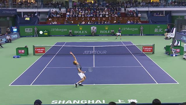 Medvedev continues stunning form to take Shanghai title