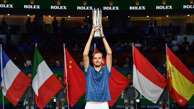 Masters de Shanghái 2019 (final), Medvedev-Zverev: La 'NextGen' habla ruso