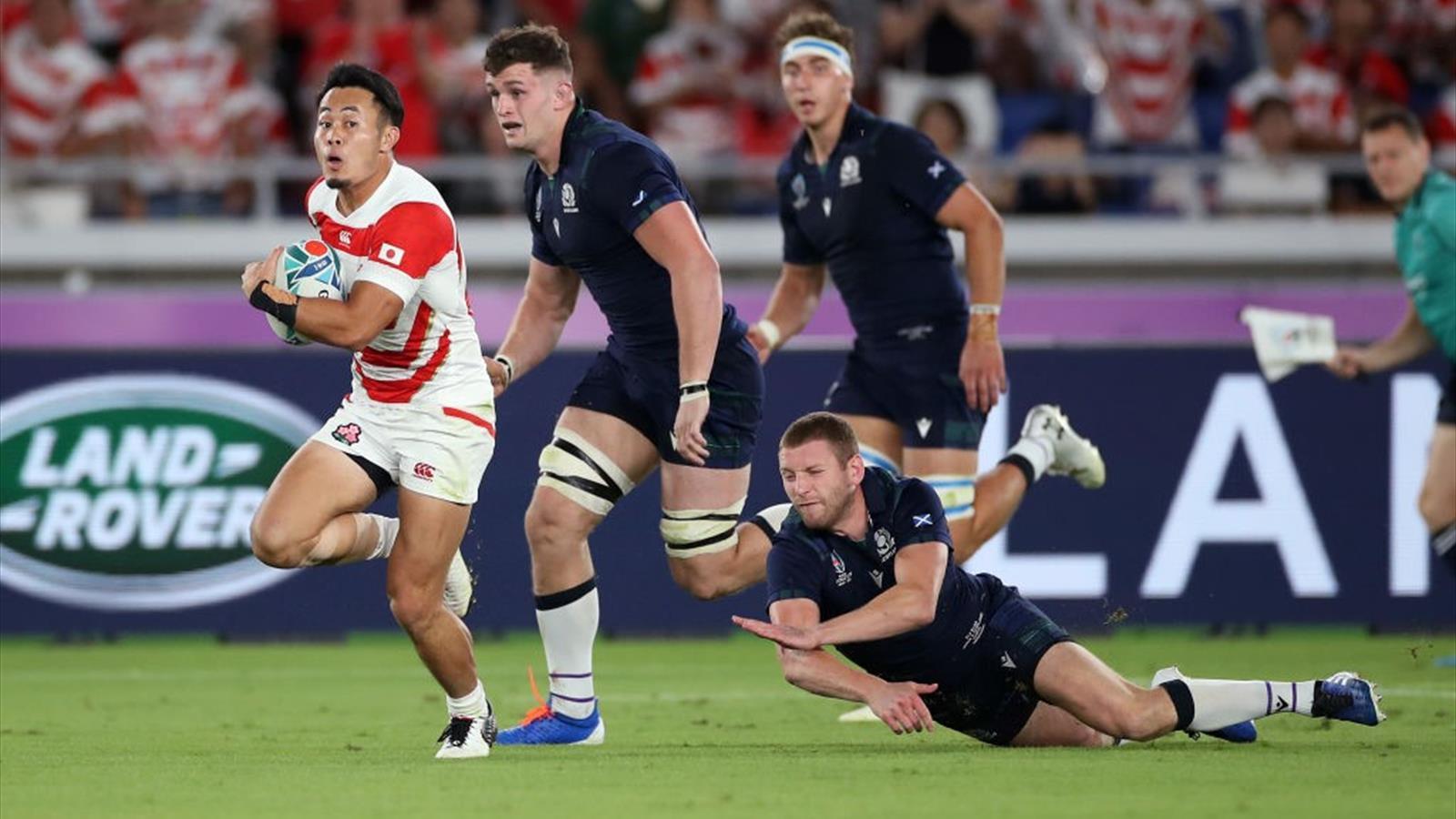 🏉 🏆 Ya hay cuartos del Mundial: Japón-Sudáfrica, Gales ...
