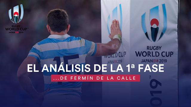Copa del Mundo de Rugby: El análisis de la 1ª fase