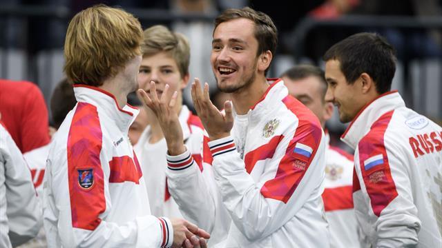 De gamins turbulents à champion naissants : Medvedev-Khachanov-Rublev, trio d'avenir pour la Russie