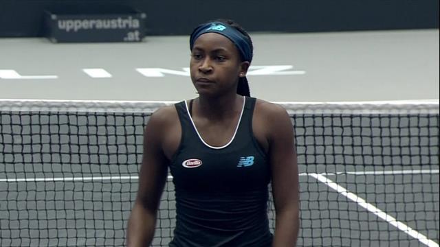 WTA Linz (final), Gauff-Ostapenko: La niña maravilla ya está aquí