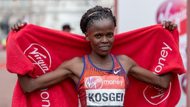 Brigid Kosgei dépoussière le record du monde du marathon de Paula Radcliffe