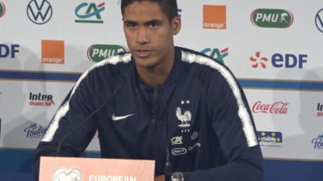 Bleus - Varane : ''Pas surpris par Giroud''