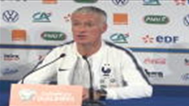 Bleus - Deschamps : ''Des interrogations légitimes sur Giroud''