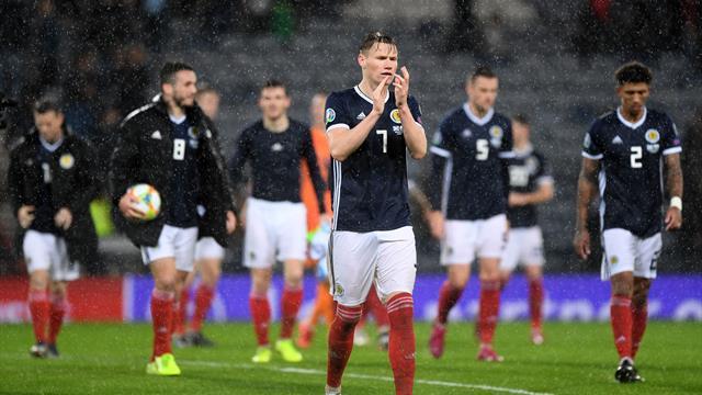 McGinn hits hat-trick as Scotland thrash San Marino