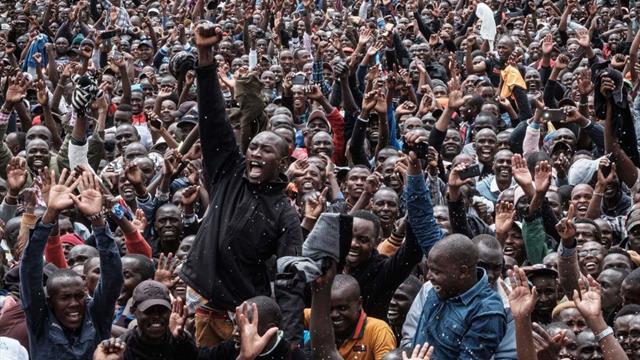Euforia en Nairobi tras el récord de Kipchoge