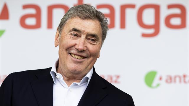 Ciclismo: Merckx cade da bici, 'trauma cranico' e ospedale