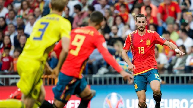 Suecia-España, en directo - Clasificación Eurocopa 2020