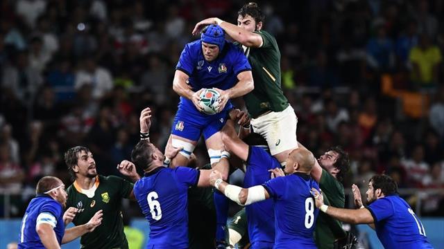 Nuova Zelanda resta in testa nel ranking dopo la fase a gironi: Italia 12a inseguita da Tonga