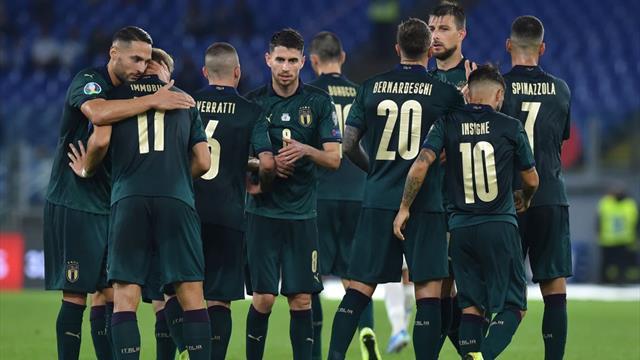 L'Italia di Mancini è una macchina: cinque gol al Liechtenstein