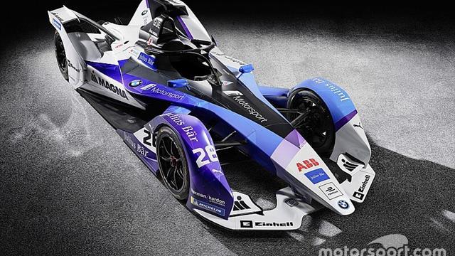 BMW svela la nuova livrea per la stagione 2019/2020 di Formula E