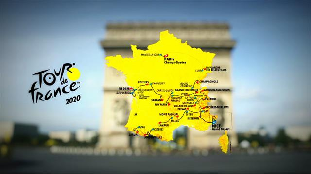 Tour de France 2020: The route in full