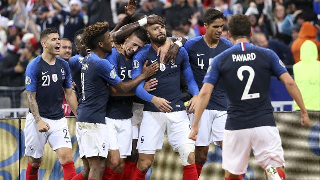 Et de 13 ! La France sera à l'Euro et poursuit sa série