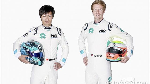 Il team NIO scegliere Ma Qing Hua e Oliver Turvey per il 2019/2020