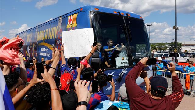 Il Barcellona costretto a viaggiare in bus per Eibar: l'ultima volta fu contro l'Inter...