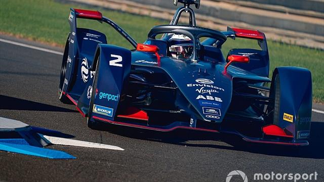 Bird leads Gunther on opening day of Formula E test