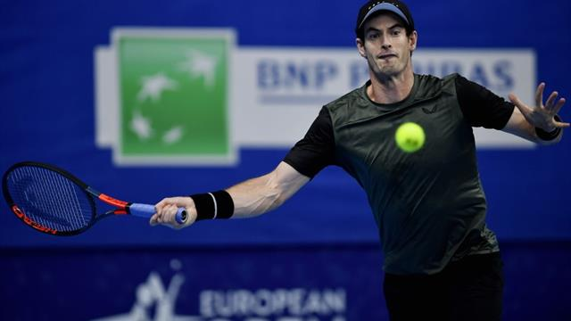 Andy Murray overcomes determined Kimmer Coppejans in Antwerp opener