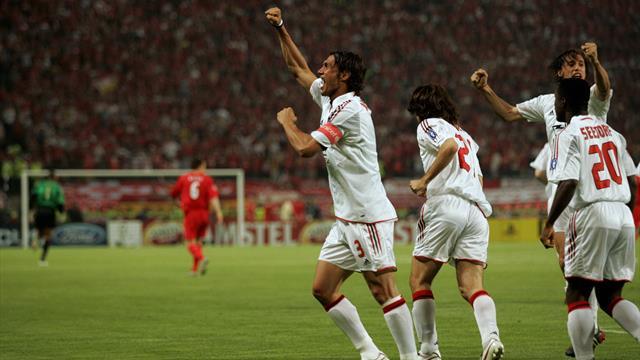 Maldini e la Champions: