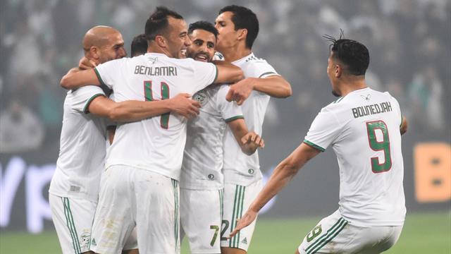 Mahrez régale, l'Algérie dévore la Colombie