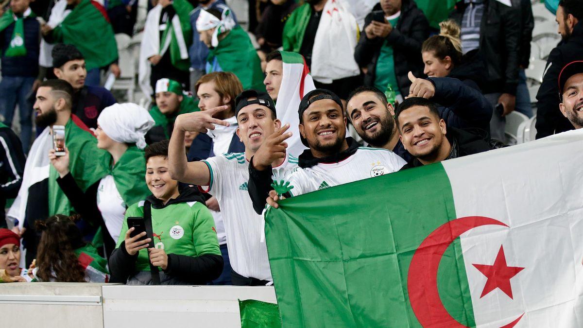Les fans de l'Algérie se sont régalés face à la Colombie